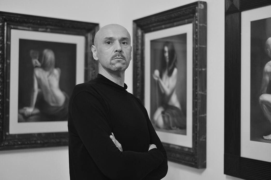 Damir May at May Fine Art Studio Vienna