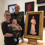 Damir May with Marta at May Gallery